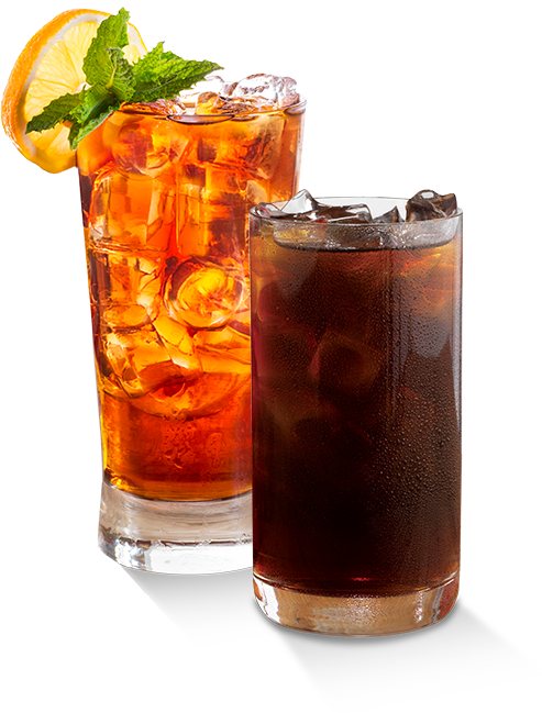 Cold Cups of Red Diamond Iced Tea and Fitz Cold Brew Coffee